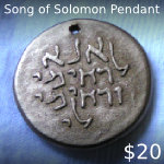 Song of Solomon Polymer Pendant